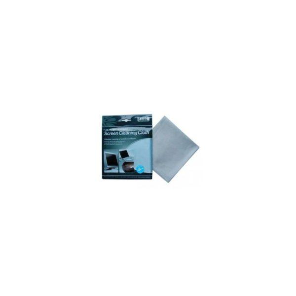 Салфетка для оптики (замша) 32х31 см серая